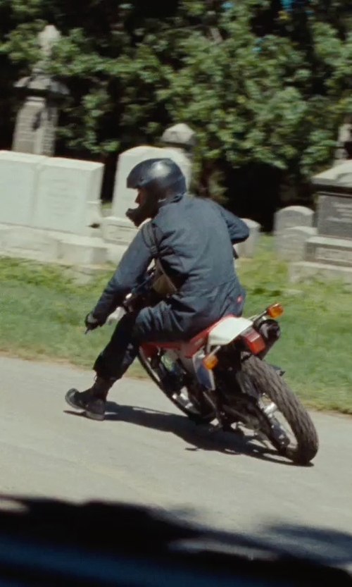 Ryan Gosling with Harley Davidson John Steel Toe Motorcycle Safety Boots in The Place Beyond The Pines