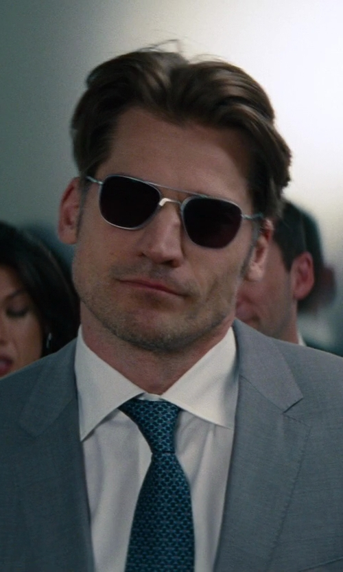 Nikolaj Coster-Waldau with Stefano Ricci	 Basic French-Cuff Solid Dress Shirt in The Other Woman