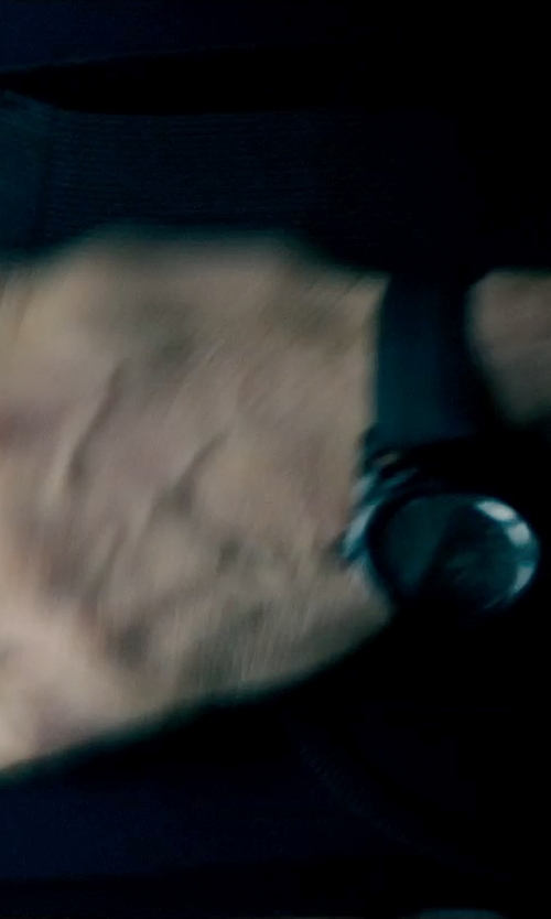 Frank Grillo with Bell and Ross Vintage Phantom Chronograph Mens Watch in The Purge: Anarchy