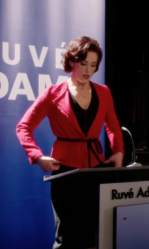 Janet Kidder with Judith & Charles Coco Jacket in Arrow