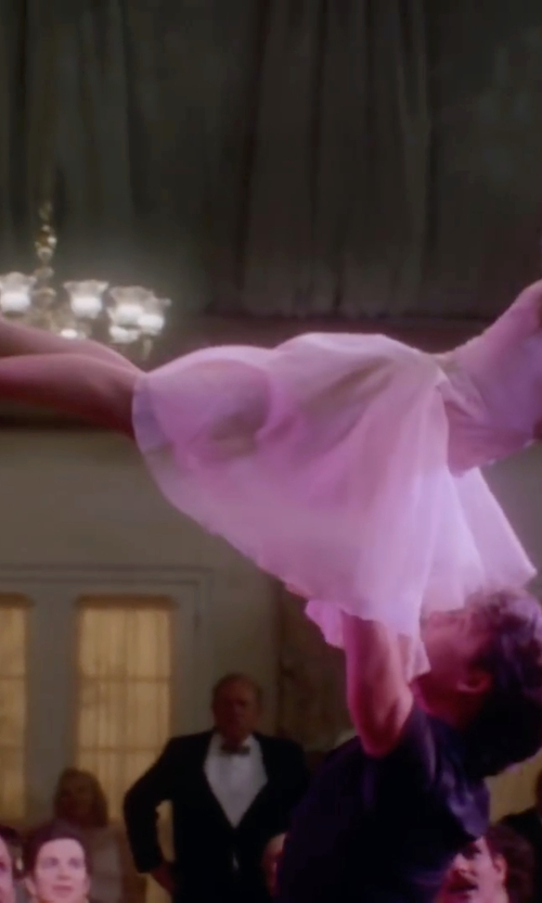 Jennifer Grey with Dyeables Makayla Sandals in Dirty Dancing