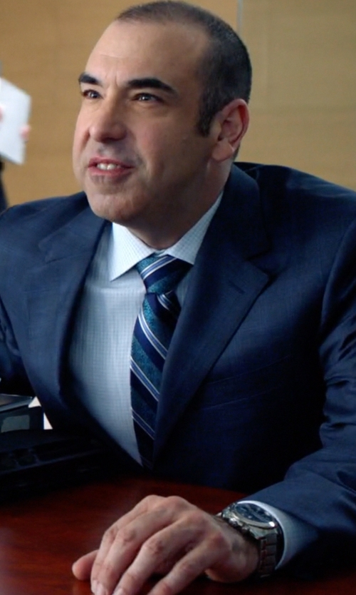 Rick Hoffman with Bulova Sport Classic Two Tone Watch in Suits