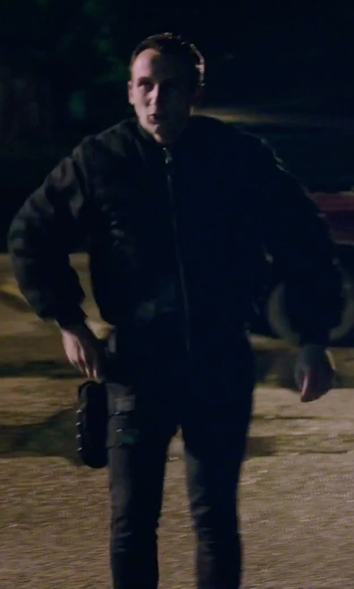 Unknown Actor with Carhartt Flame Resistant Ripstop Utility Pants in American Ultra