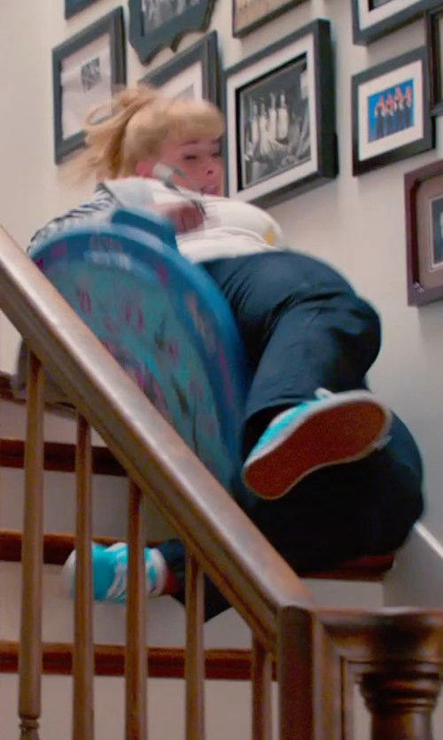 Rebel Wilson with Converse Chuck Taylor All Star Hi Canvas Shoes in Pitch Perfect 2
