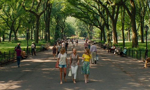 Cameron Diaz with The Mall, Central Park New York City, New York in The Other Woman