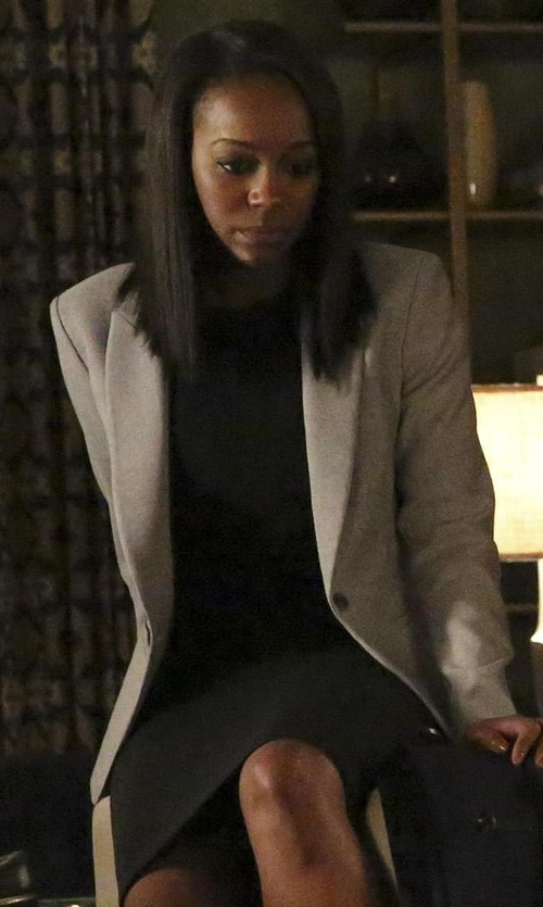 Aja Naomi King with Bailey 44 Jane Jacket in How To Get Away With Murder