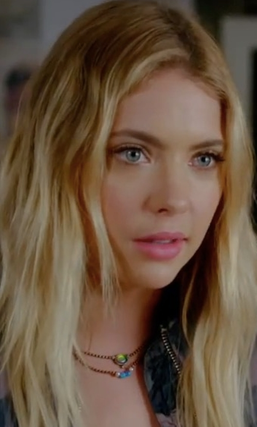 Ashley Benson with Lionette by Noa Sade Udal Choker in Pretty Little Liars