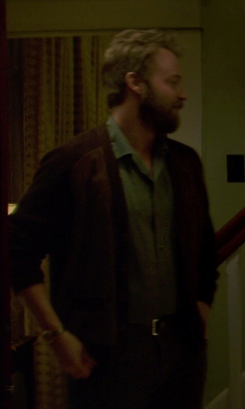 Joshua Leonard with Jos.A.Bank Signature Wool Gabardine Pleated Trousers in If I Stay