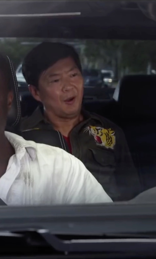 Ken Jeong with Sunspel Basic Cotton T-Shirt in Ride Along 2