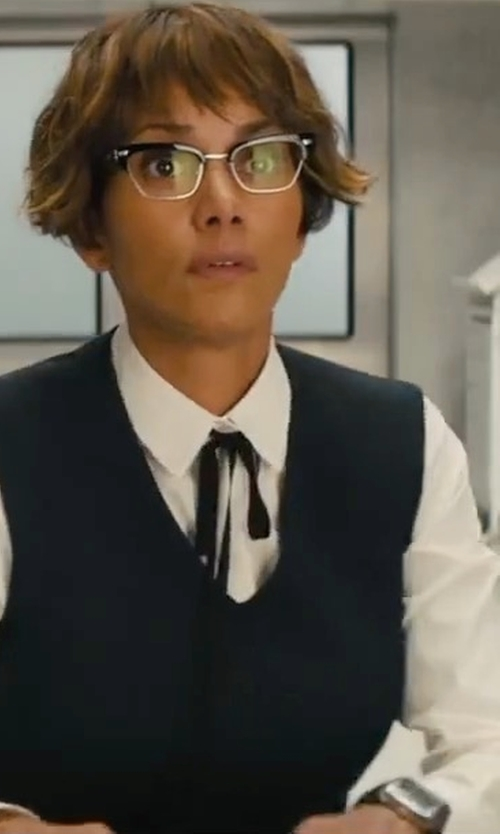 Halle Berry with Tag Heuer Monaco Calibre 11 Automatic Chronograph Watch in Kingsman: The Golden Circle