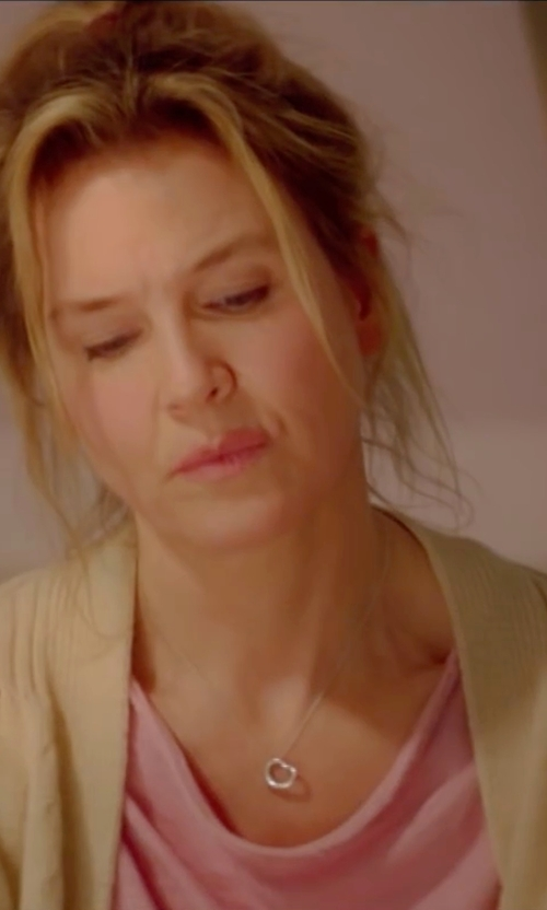 Renée Zellweger with Jack By BB Dakota Crochet Lewis Cardigan in Bridget Jones's Baby
