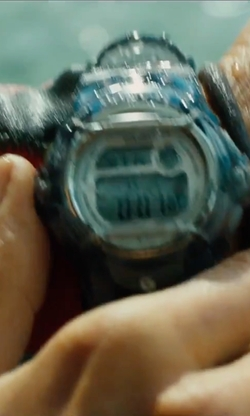 "Blake Lively with Casio  ""Baby-G"" Resin Sport Watch in The Shallows"