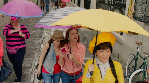 Hana Mae Lee with Blunt XS Metro Umbrella in Pitch Perfect 2