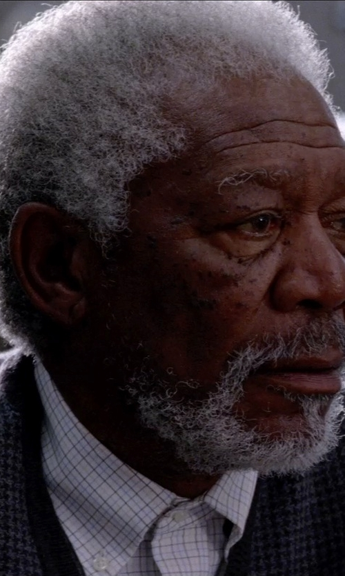 Morgan Freeman with MAISON MARTIN MARGIELA 10 Sweater in Transcendence