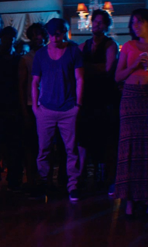 Channing Tatum with Tramarossa Casual Chino Pants in Magic Mike XXL