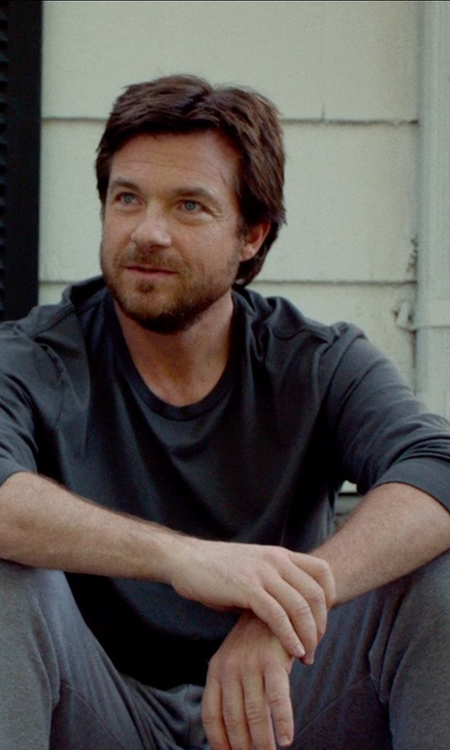 Jason Bateman with DIOR HOMME long sleeve t-shirt in This Is Where I Leave You