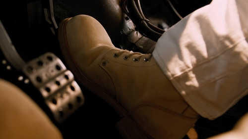 Vin Diesel with Timberland 6 Inch Premium Waterproof Boots in The Fate of the Furious