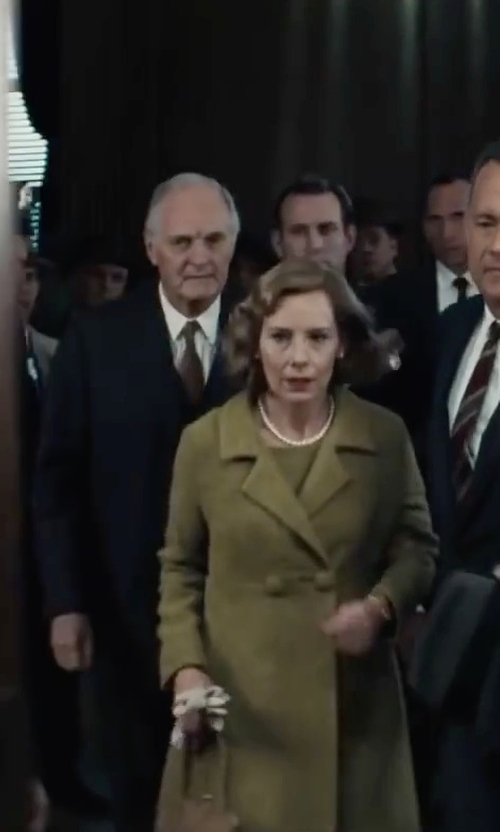Alan Alda with Jack Spade Solid Bradford Spread-Collar Shirt in Bridge of Spies