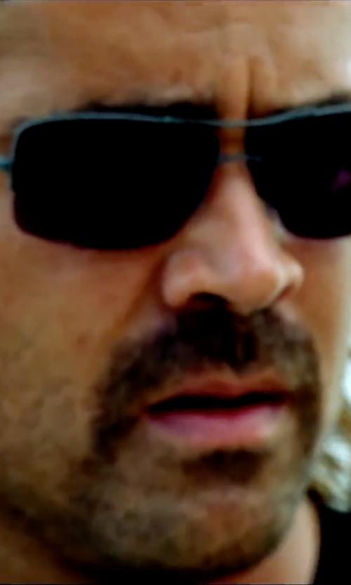 Colin Farrell with Sama Eyewear Slam Sunglasses in Miami Vice