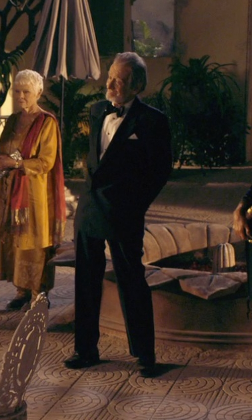 Ronald Pickup with To Boot New York Duke Oxford Shoes in The Second Best Exotic Marigold Hotel