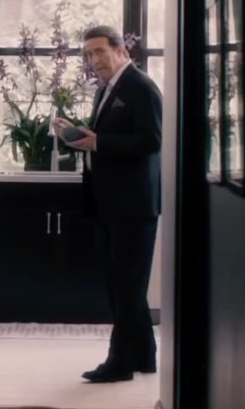 Ciarán Hinds with PS by Paul Smith Robin Cap Toe Dress Shoes in The Disappearance of Eleanor Rigby