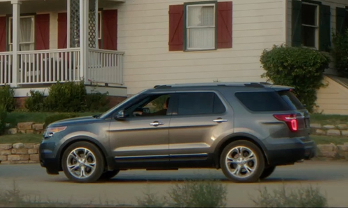Unknown Actor with Ford Explorer SUV in Sinister 2