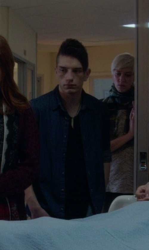 Tom Vanderkam with Selected Chambray Shirt in If I Stay