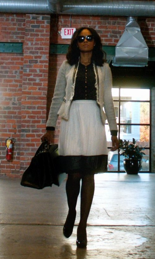 Sharon Leal with Kate Spade New York Lori Pump in Addicted