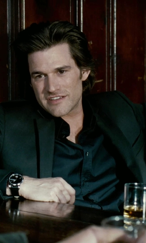Johnny Whitworth with Moser Whiskey Double Old-Fashioned Glass in Limitless