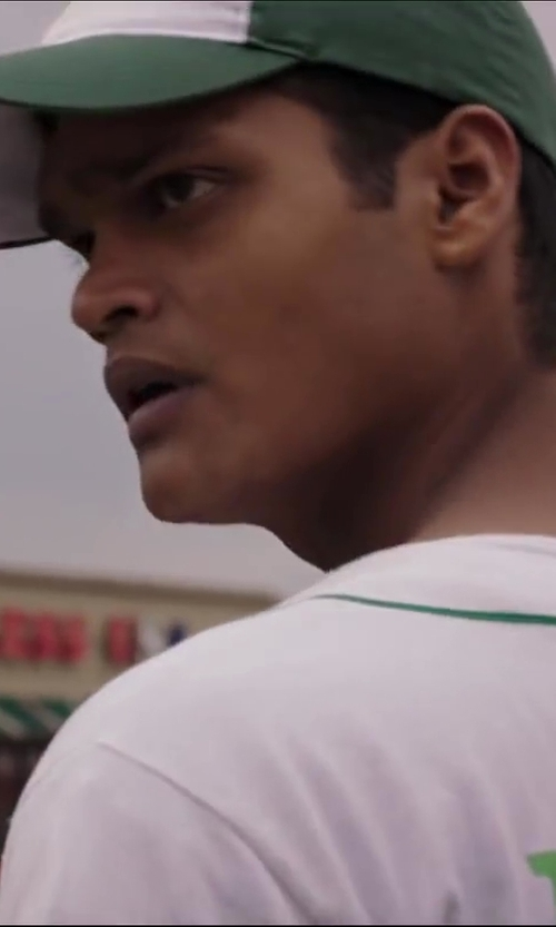 Madhur Mittal with The Game Headwear GameTekII Color Block Caps in Million Dollar Arm