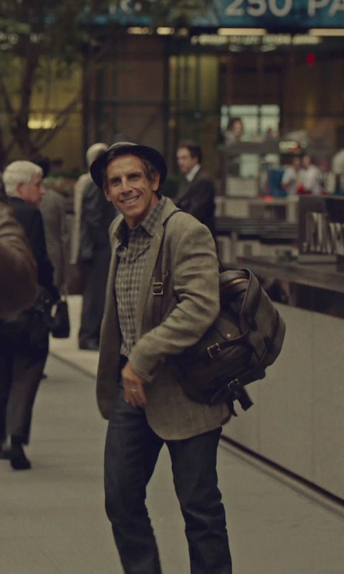 Ben Stiller with Filson Rucksack (Otter Green) in While We're Young