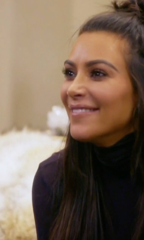 Kim Kardashian West with Wolford  Amsterdam Pullover in Keeping Up With The Kardashians