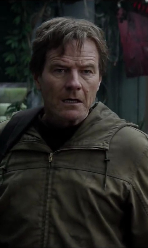 Bryan Cranston with R&O Antiqued Jacket - Men in Godzilla