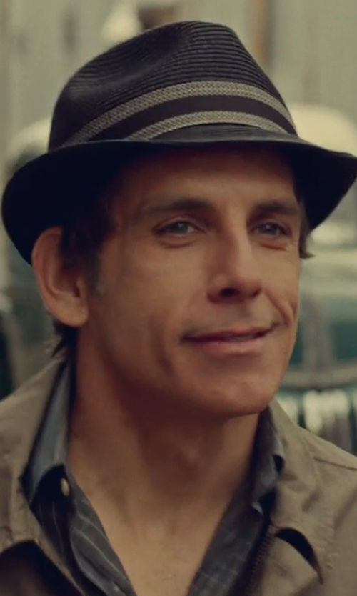 Ben Stiller with Maestrami Evolution Pinstriped Shirt in While We're Young