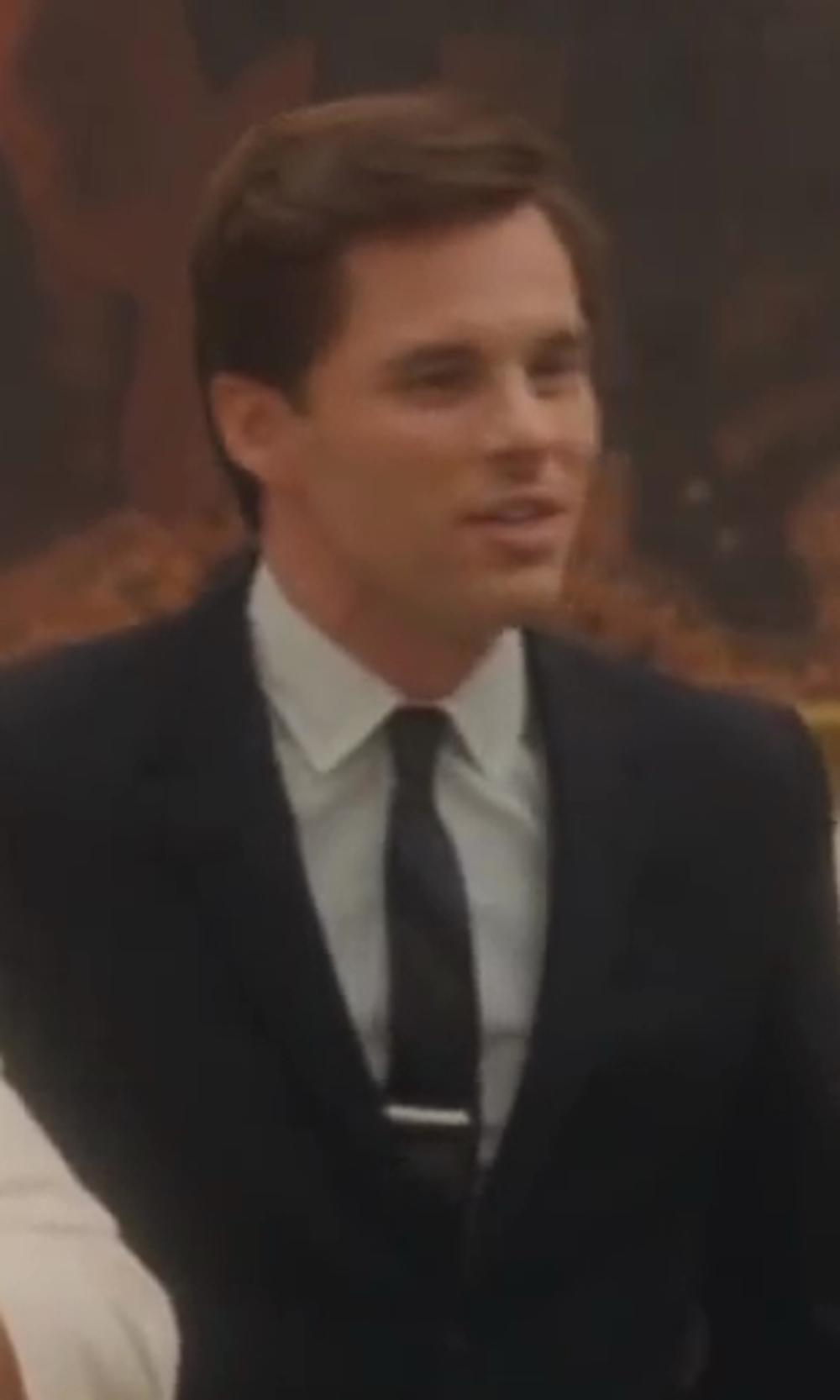 James Marsden with Michael Kors Silk Stripe Tie in Lee Daniels' The Butler
