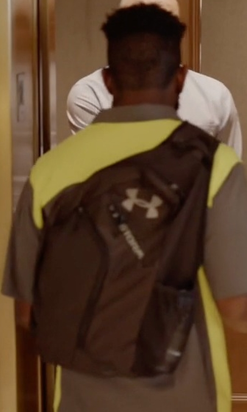 Unknown Actor with Under Armour Compel Sling Backpack in Ballers