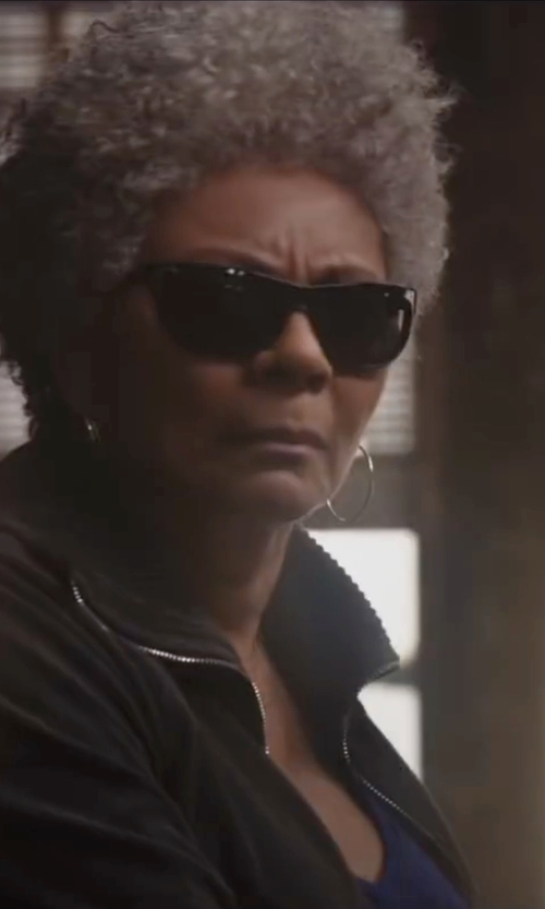 Leslie Uggams with Alo Edge Tank Top in Deadpool