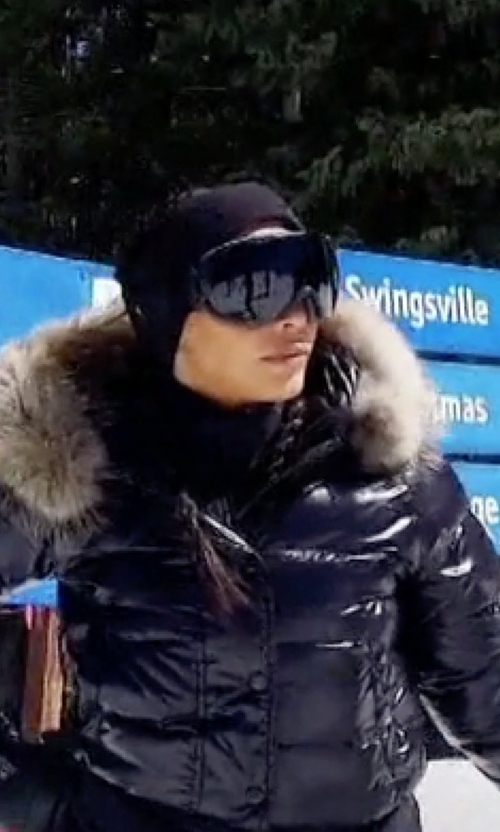 Kim Kardashian West with Smith Optics I/OS Goggle in Keeping Up With The Kardashians