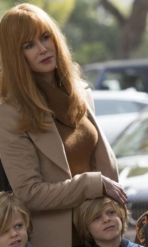 Nicole Kidman with Demy Lee DemyLee Rita Turtleneck Sweater in Big Little Lies