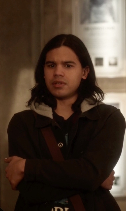 Carlos Valdes with Vans Calpine Jacket in The Flash