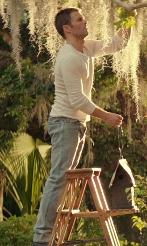 James Marsden with Jacob Cohen Straight Leg Denim Jeans in The Best of Me