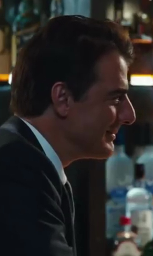 Chris Noth with Boss Hugo Boss Slim Fit Dress Shirt in Sex and the City 2