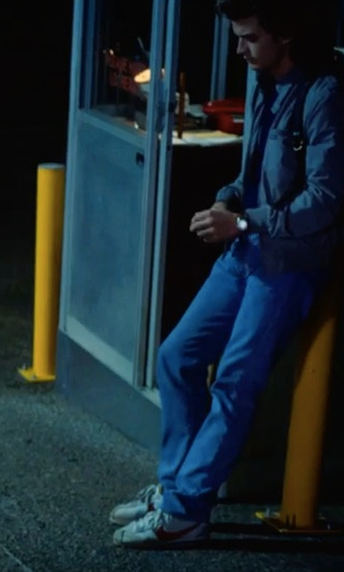 Joe Keery with Nike Cortez Sneakers in Stranger Things