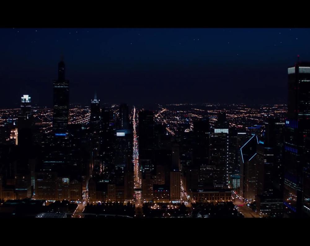 Chicago Illinois in Jupiter Ascending