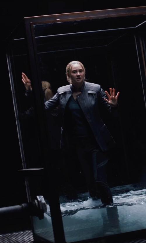 Shailene Woodley with Carlo Poggioli (Costume Designer) Custom Made Tris Prior 'Dauntless' Pants in Divergent