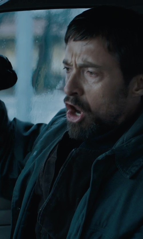 Hugh Jackman with Messagerie Leather Gloves in Prisoners