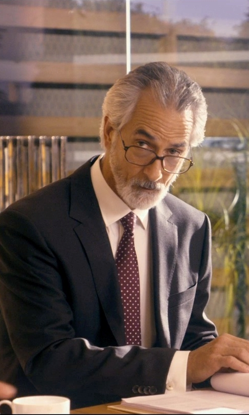 David Strathairn with Tom Ford Acetate/Metal Eyeglasses in The Second Best Exotic Marigold Hotel