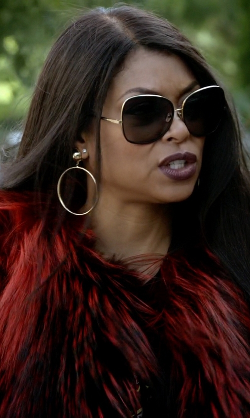 Taraji P. Henson with Dita Bluebird Two Sunglasses in Empire