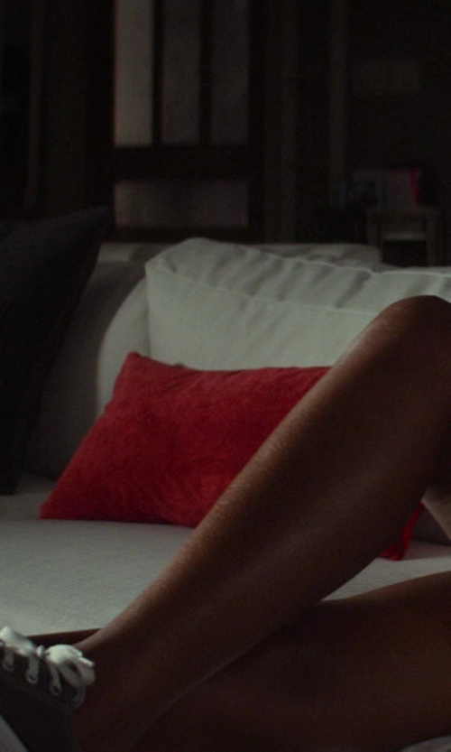 Tika Sumpter with Converse Fancy Low Top Sneakers in Ride Along