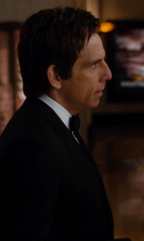 Ben Stiller with Neiman Marcus Two-Piece Striped Wool Suit in Night at the Museum: Secret of the Tomb